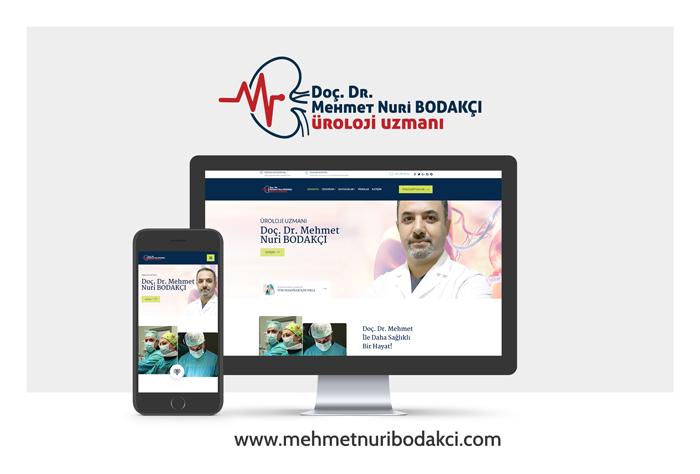 Doç. Dr. Mehmet Nuri Bodakçı Web Site Tasarımı