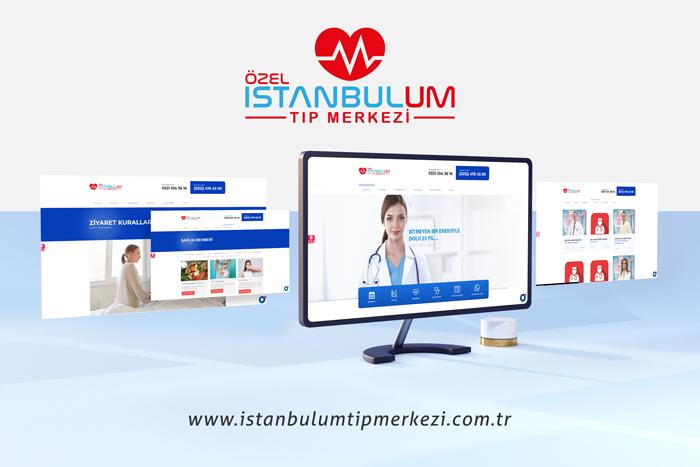 İstanbulum Tıp Merkezi Web Site Tasarımı