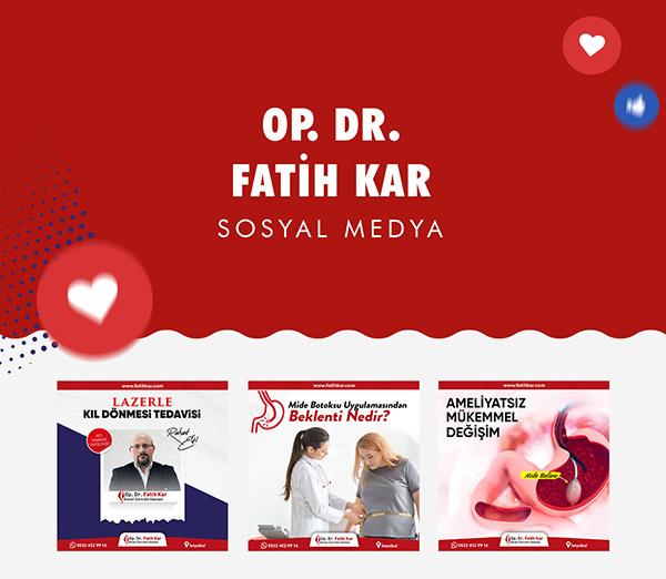 Op. Dr. Fatih Kar Sosyal Medya
